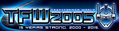 Transformer World 2005 Logo