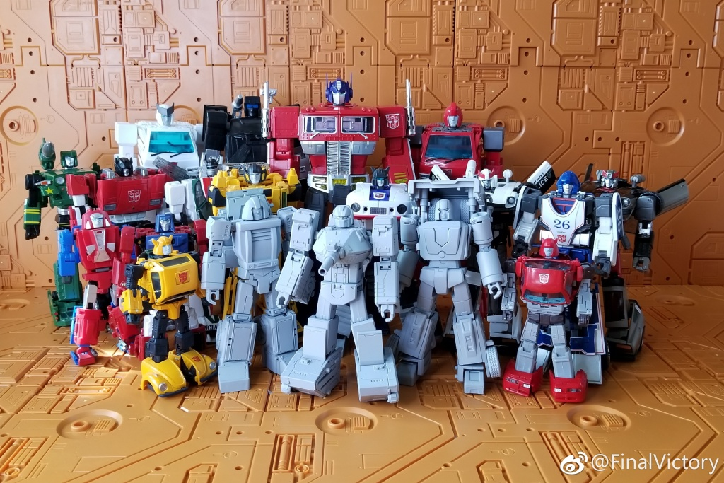 New Transformers FinalVictory FV Three warriors Brawny Action Figure in stock