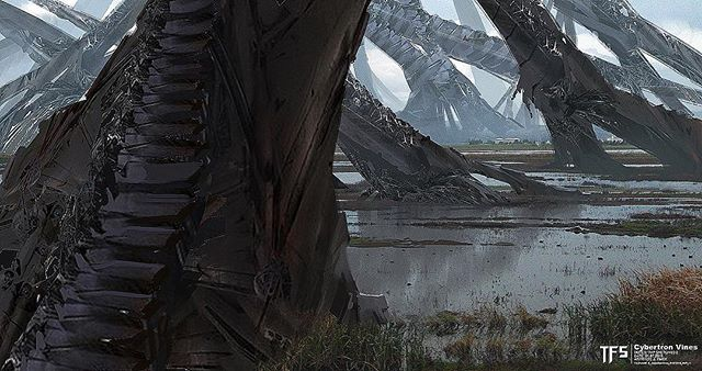 01-Cybertron Invading Earth By James Paick.jpg