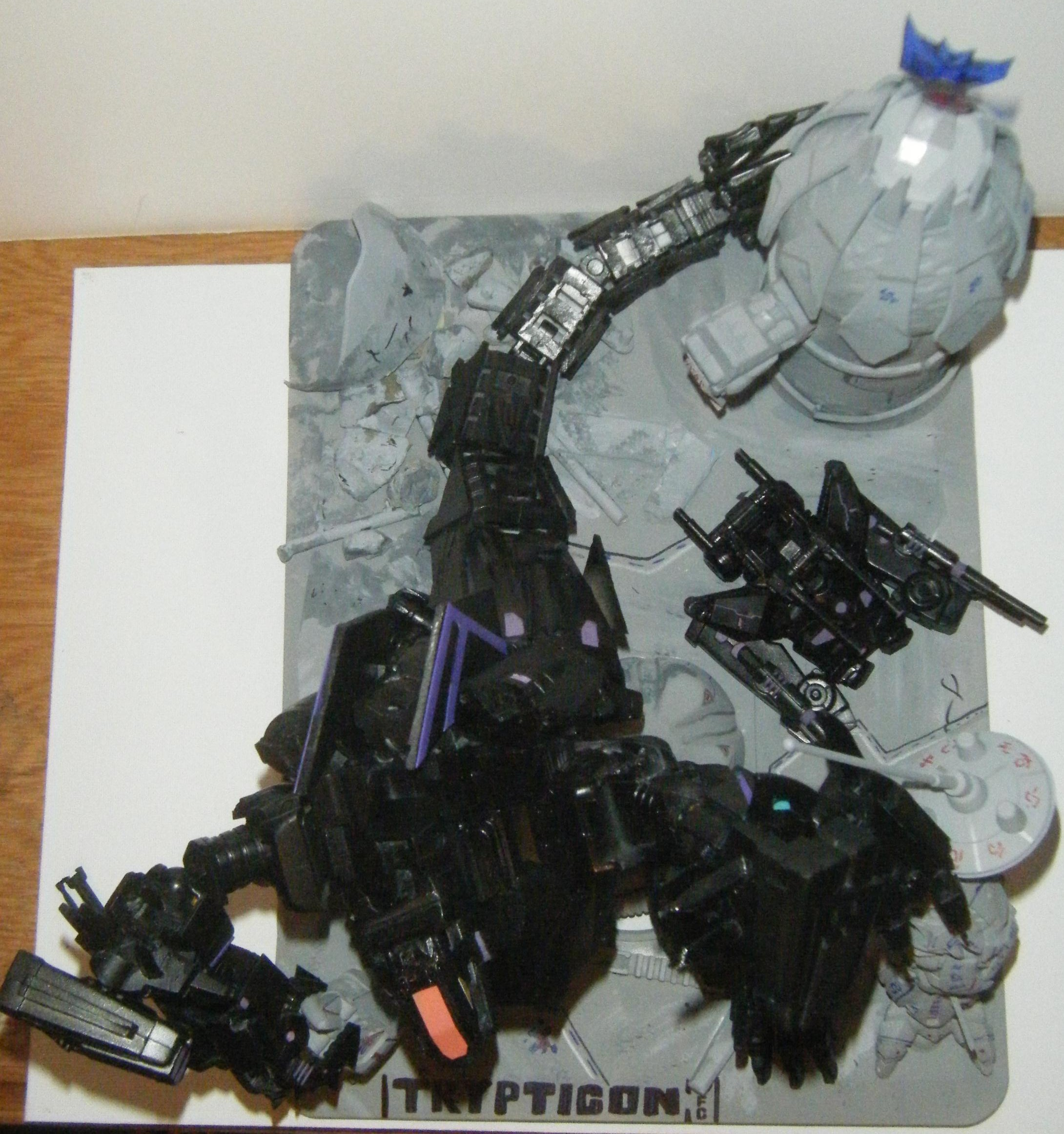 War For Cybertron Trypticon Toy Heavy scratch  wfc trypticonTrypticon War For Cybertron Toy
