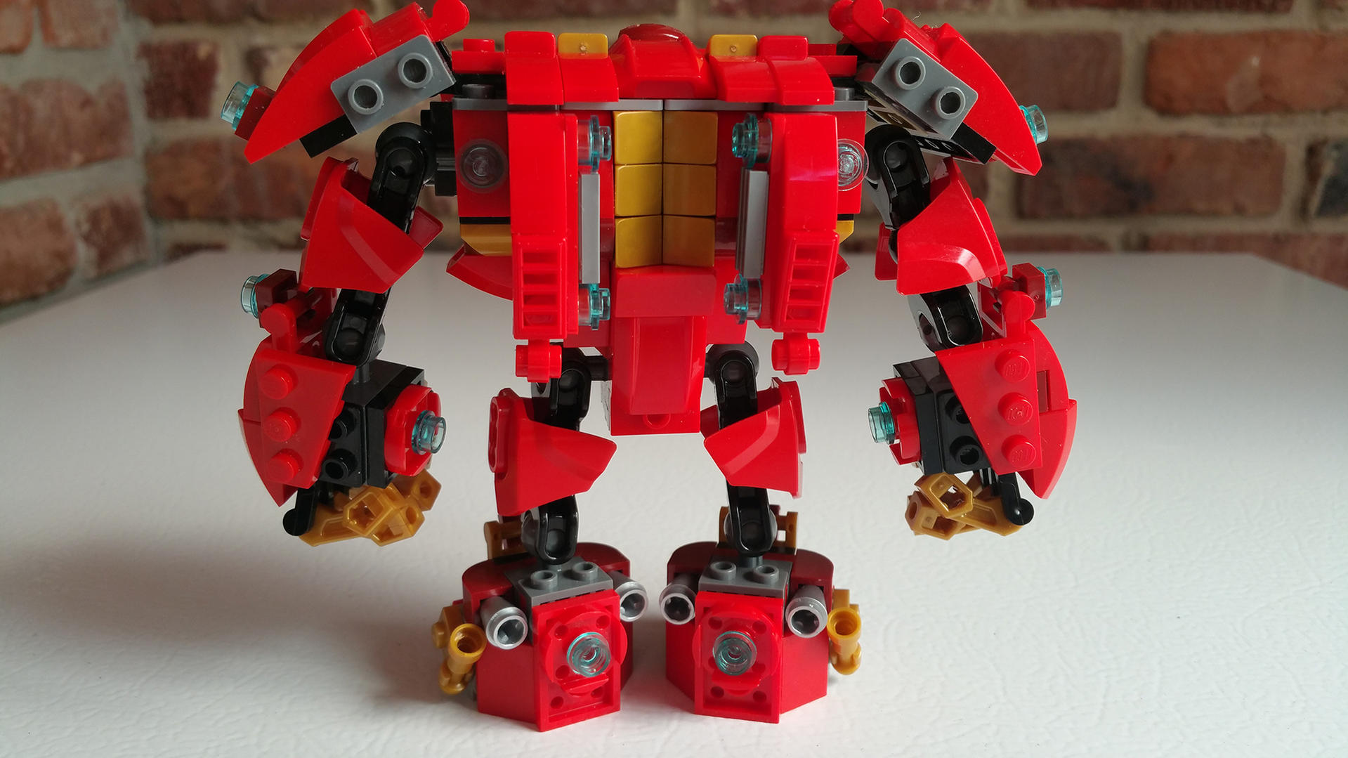 how to build the lego hulkbuster