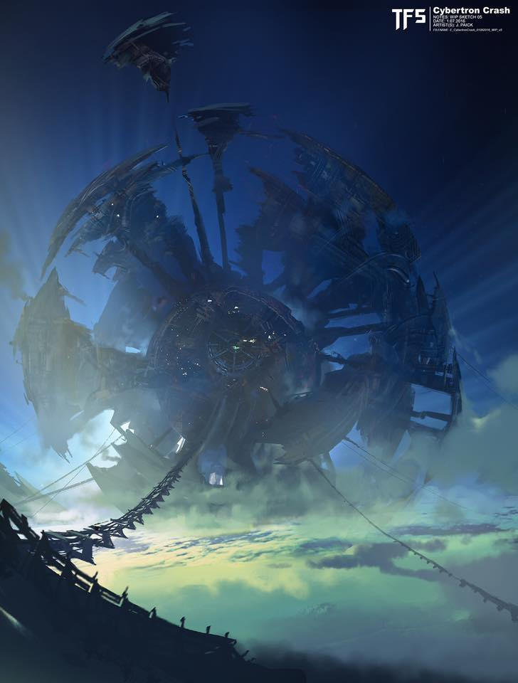 Some more concept key frames for Transformers: The Last Knight by James Paick. | TFW2005 - The ...
