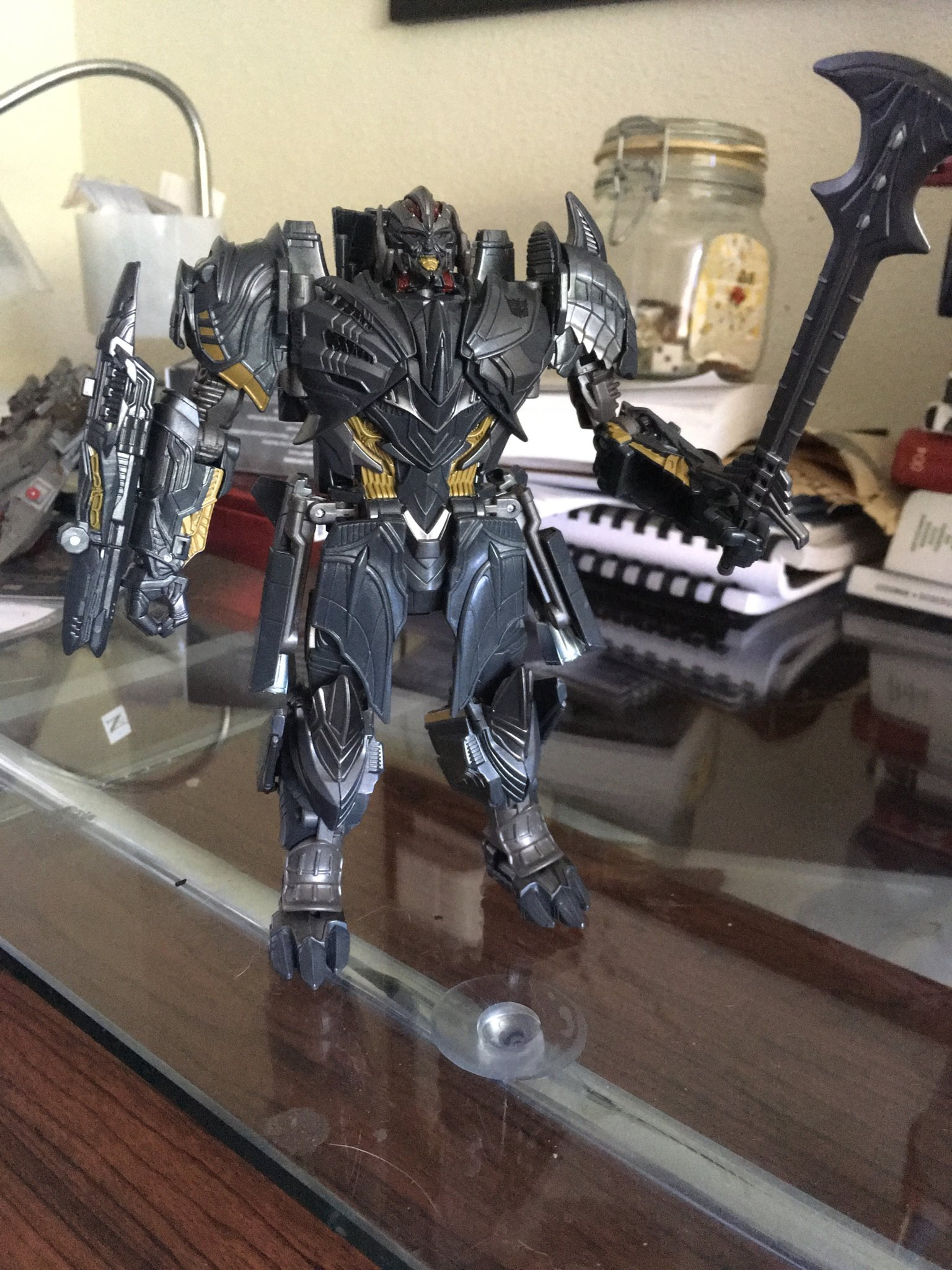 transformers megatron toy instructions