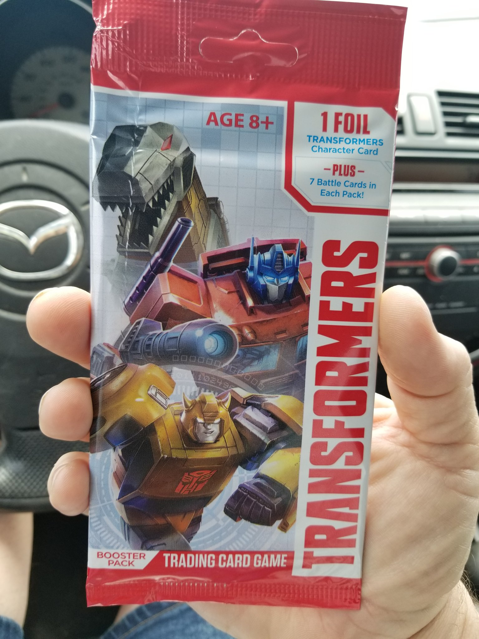 Free Transformers Trading Card Game Wave 1 Booster Pack