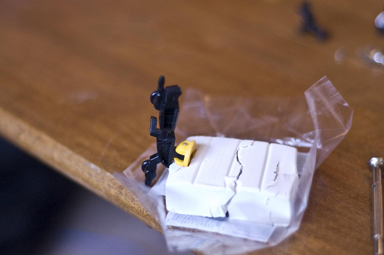 Using Sculpey III to Cushion Pin Removal-3-l-arm.jpg