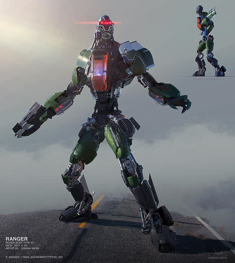 Early Decepticon Concept Art By Joshua Viers Tfw2005 The