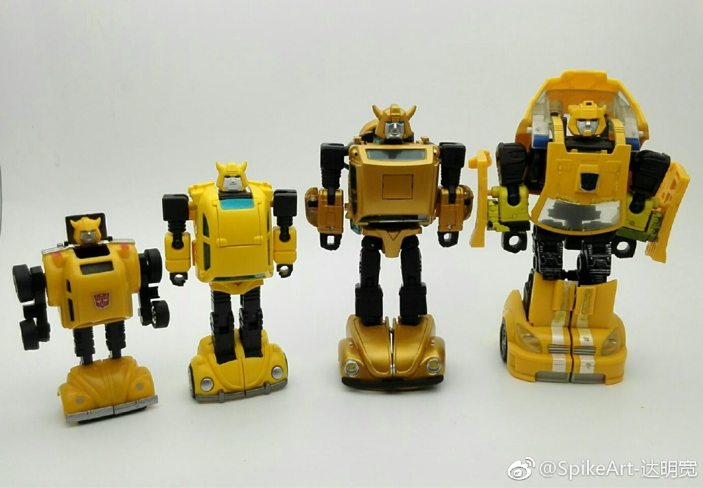 New Hot Soldiers G1 Style Transformers HS-09 HS09 Bumble Bee Ships from US