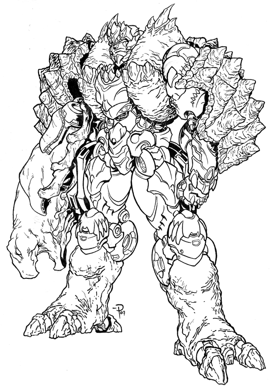 beast wars free colouring pages Star Wars Coloring Pages  Beast Wars Coloring Pages