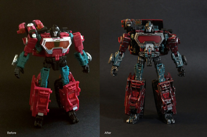 Painting and Battle Damage Tutorial - Using Reveal the Sheild Perceptor-before-after-front.jpg
