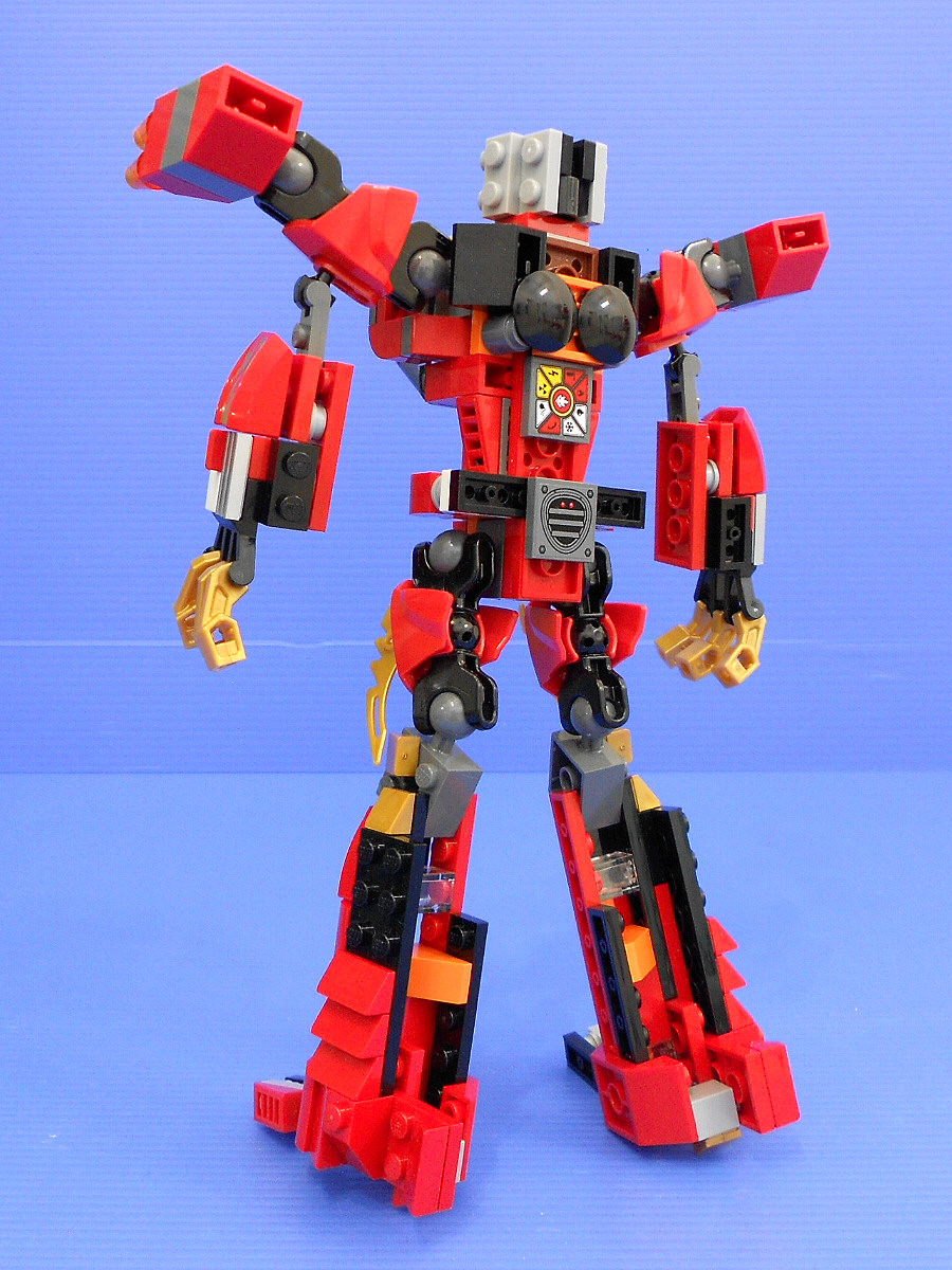 LEGO Kai Rotormech:- alternate design for Ninjago Kai Fire Mech & Creator Red Rotors-c3827.jpg