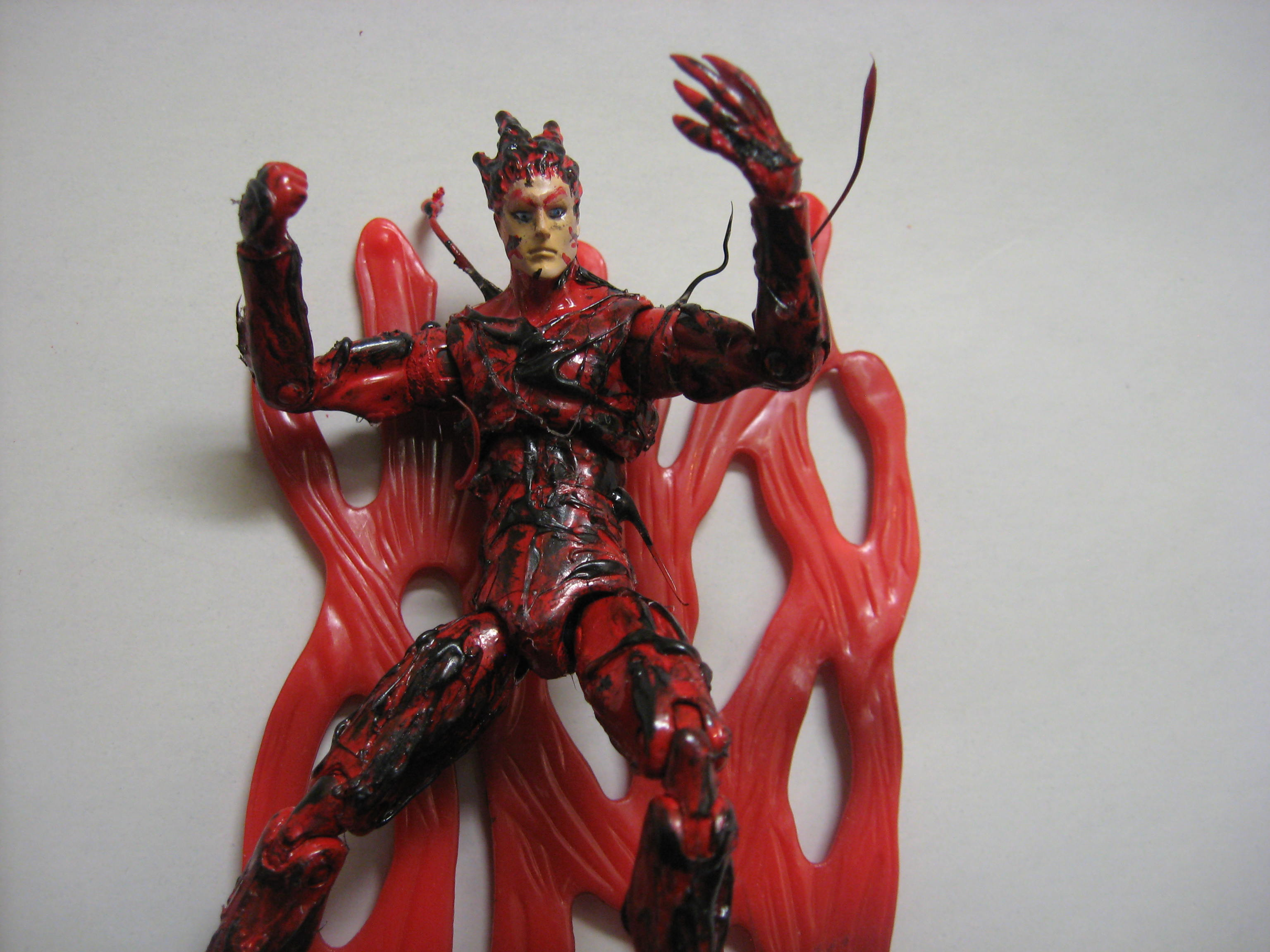 Spiderman Carnage Toy - Viewing Gallery Ultimate Carnage Toy