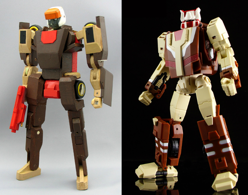 Jizai Toys: Chromedome Rough Test 1997-chromedome_jizai1.jpg