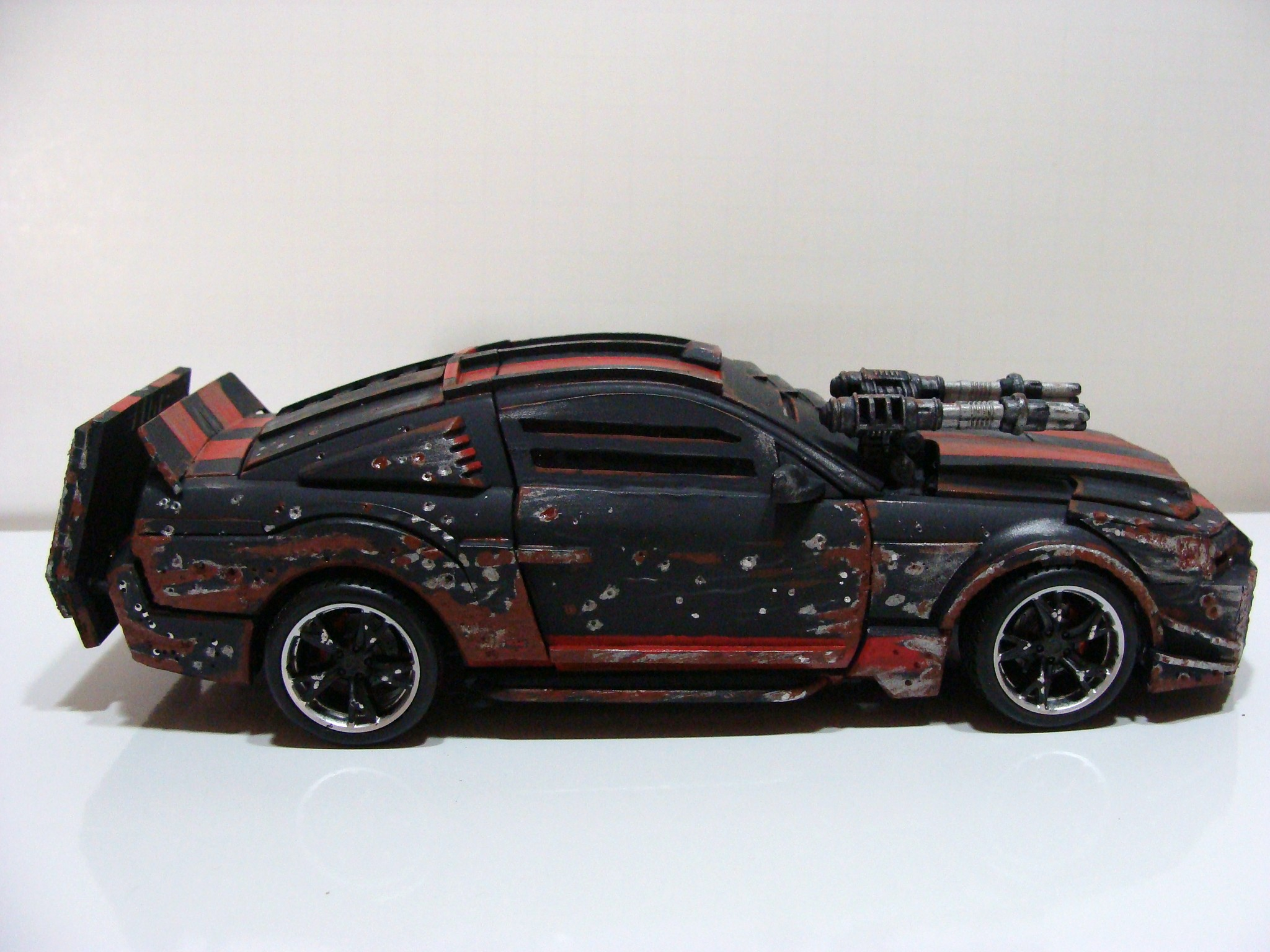 Death Race Mustang custom Alt. Batttle Damaged. - TFW2005.com