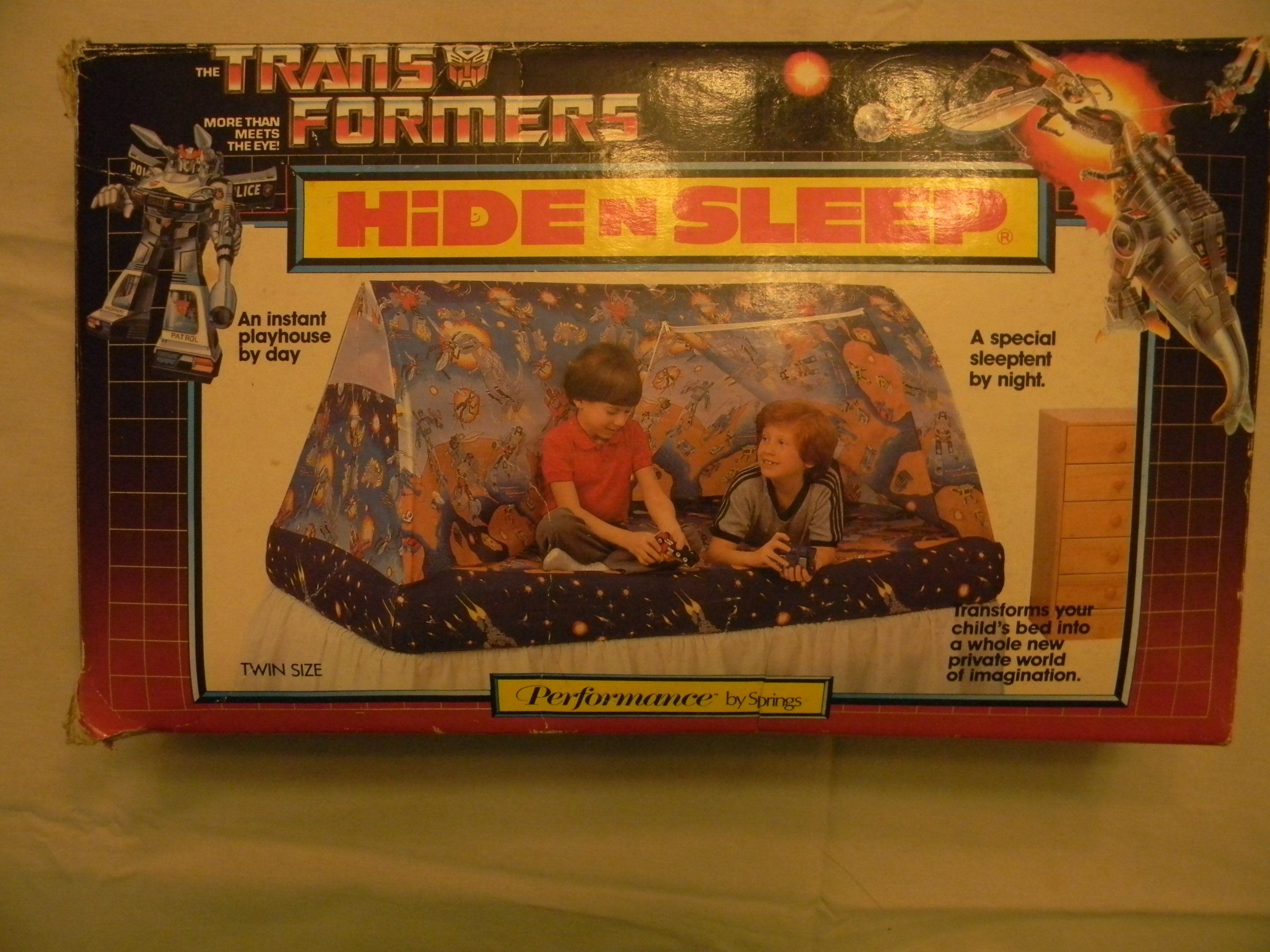 DSCN0456.JPG & Transformers g1 mib hide n sleep 1985 bed play tent | TFW2005 ...