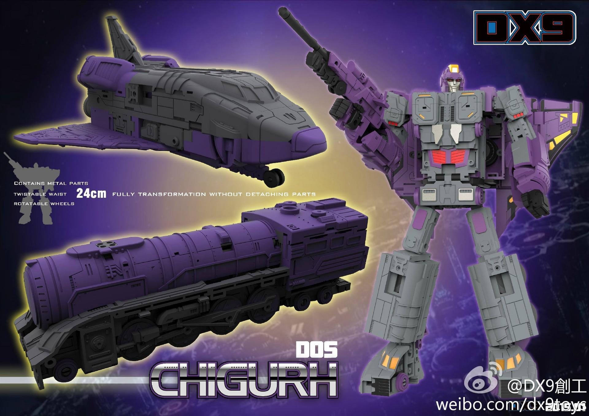 DX9 Toys D05 Chigurh (Leader/MP Astrotrain) | TFW2005 ...