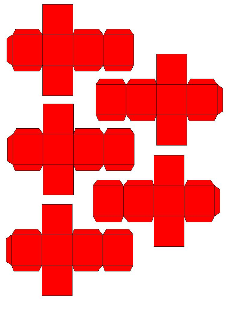 Paper Craft Energon Cubes-energon-cubes-red.jpg