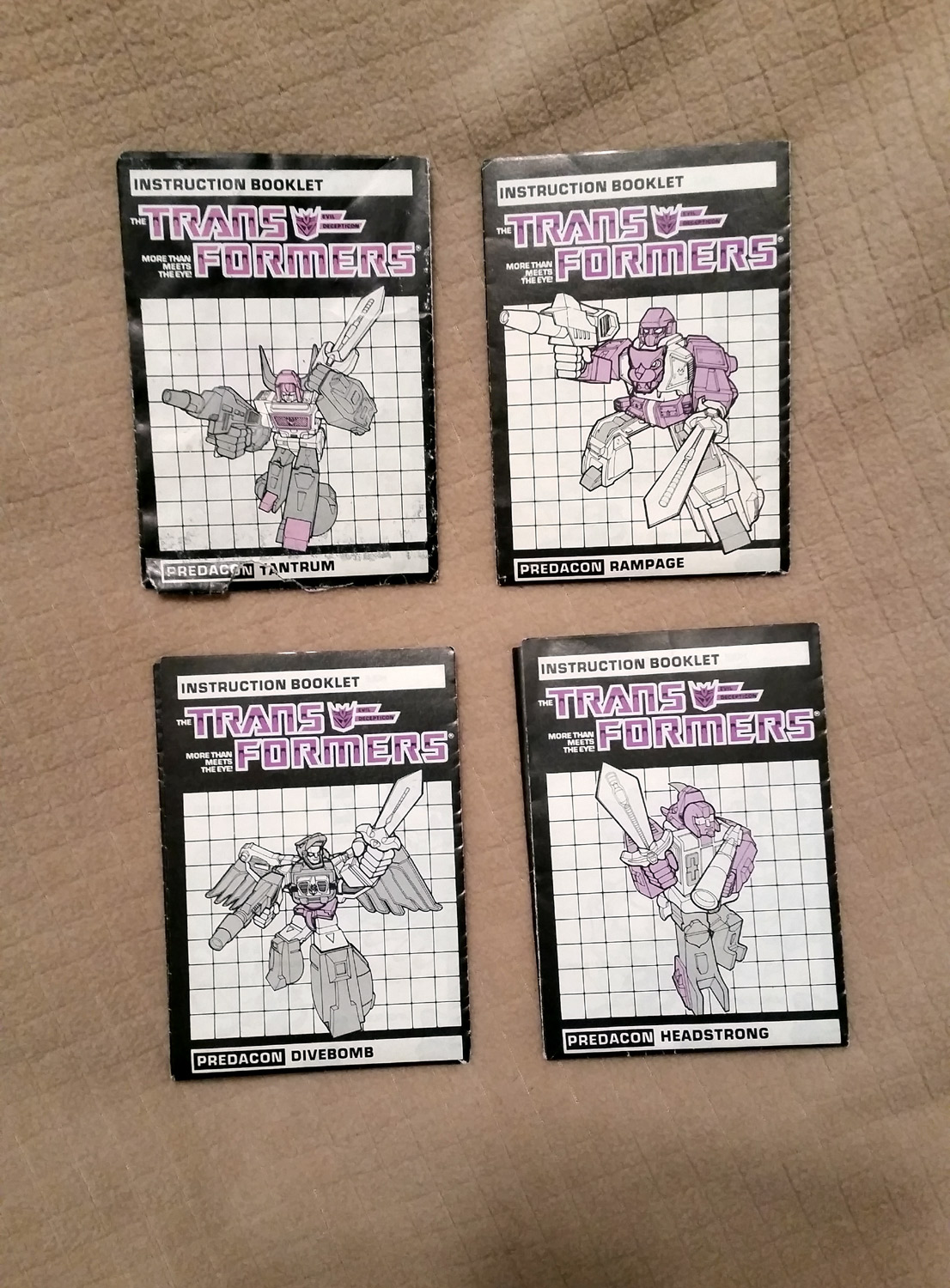 SQ7 Sells TFs and Other Things!  (Free Sketch Card with Each!)-g1-predacons-instructions.jpg