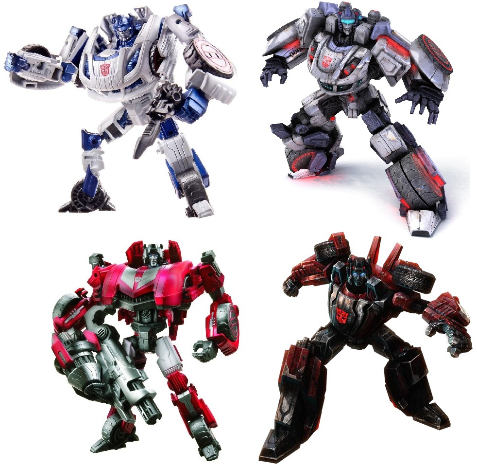 Falls Figures Fall of Cybertron Figures