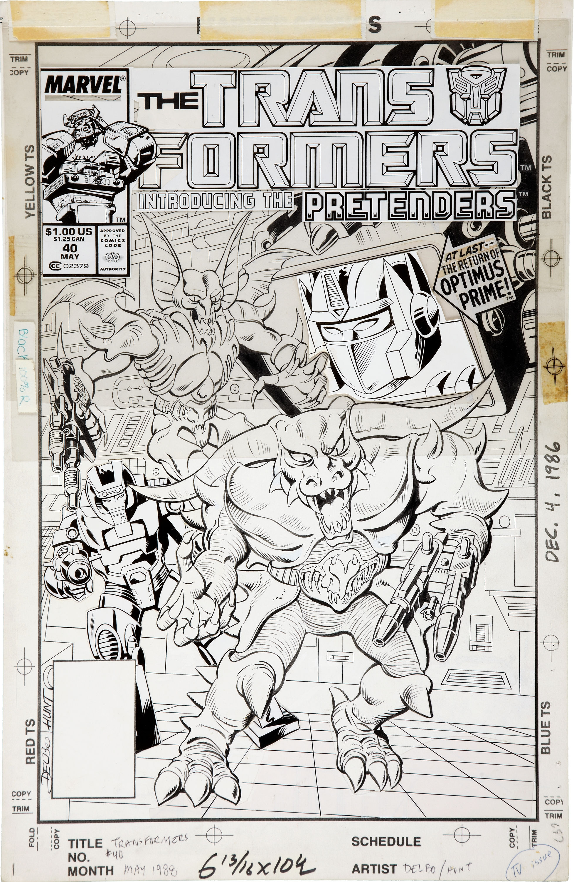 Be Nelson Yomtov! (Colorists, Tackle an Original Transformers Marvel Comics Page!)-jose-20delbo-20transformers-2040-20page.jpg