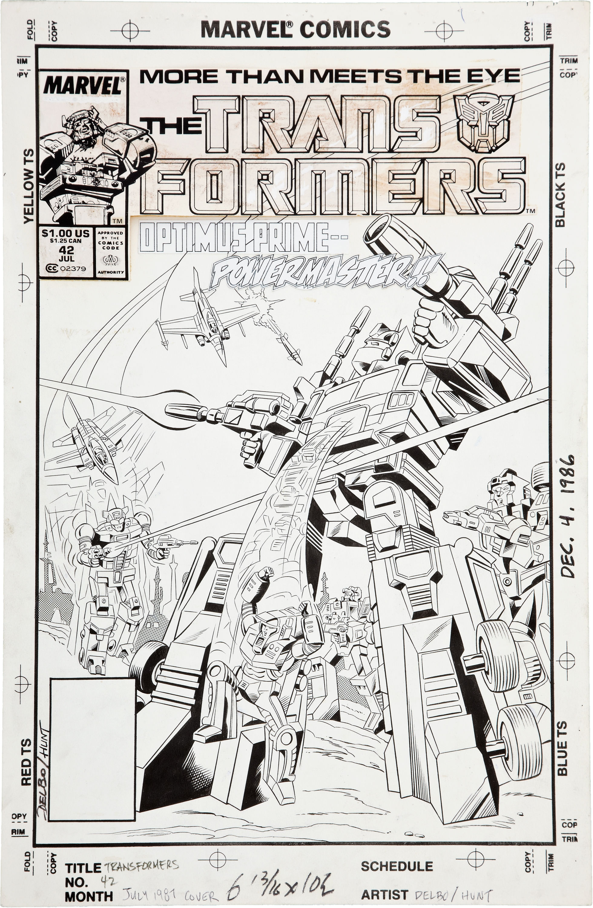 Be Nelson Yomtov! (Colorists, Tackle an Original Transformers Marvel Comics Page!)-jose-20delbo-20transformers-2042-20page-2005.jpg