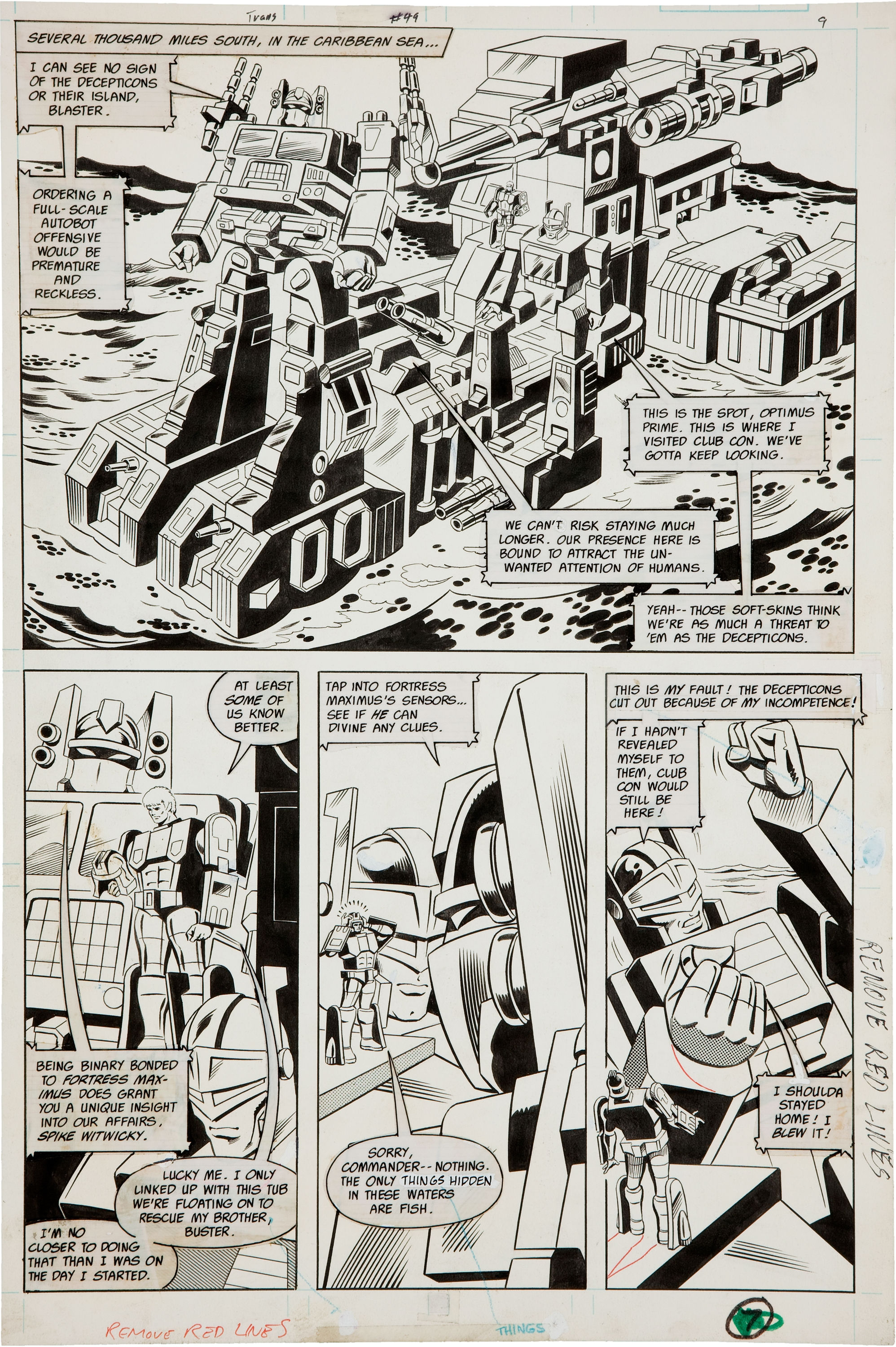 Be Nelson Yomtov! (Colorists, Tackle an Original Transformers Marvel Comics Page!)-jose-20delbo-20transformers-2049-20page.jpg