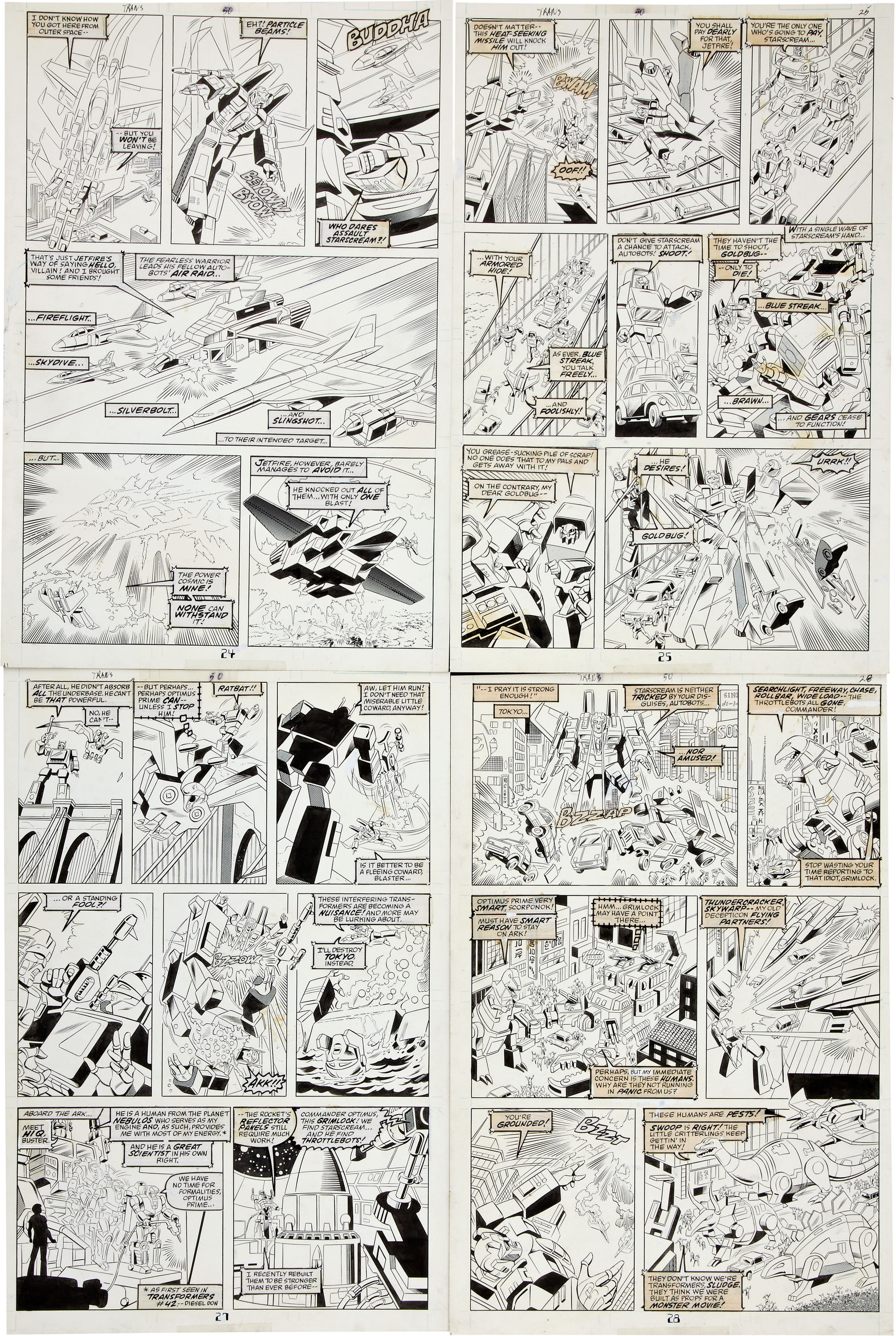 Be Nelson Yomtov! (Colorists, Tackle an Original Transformers Marvel Comics Page!)-jose-delbo-transformers-50-page-04.jpg