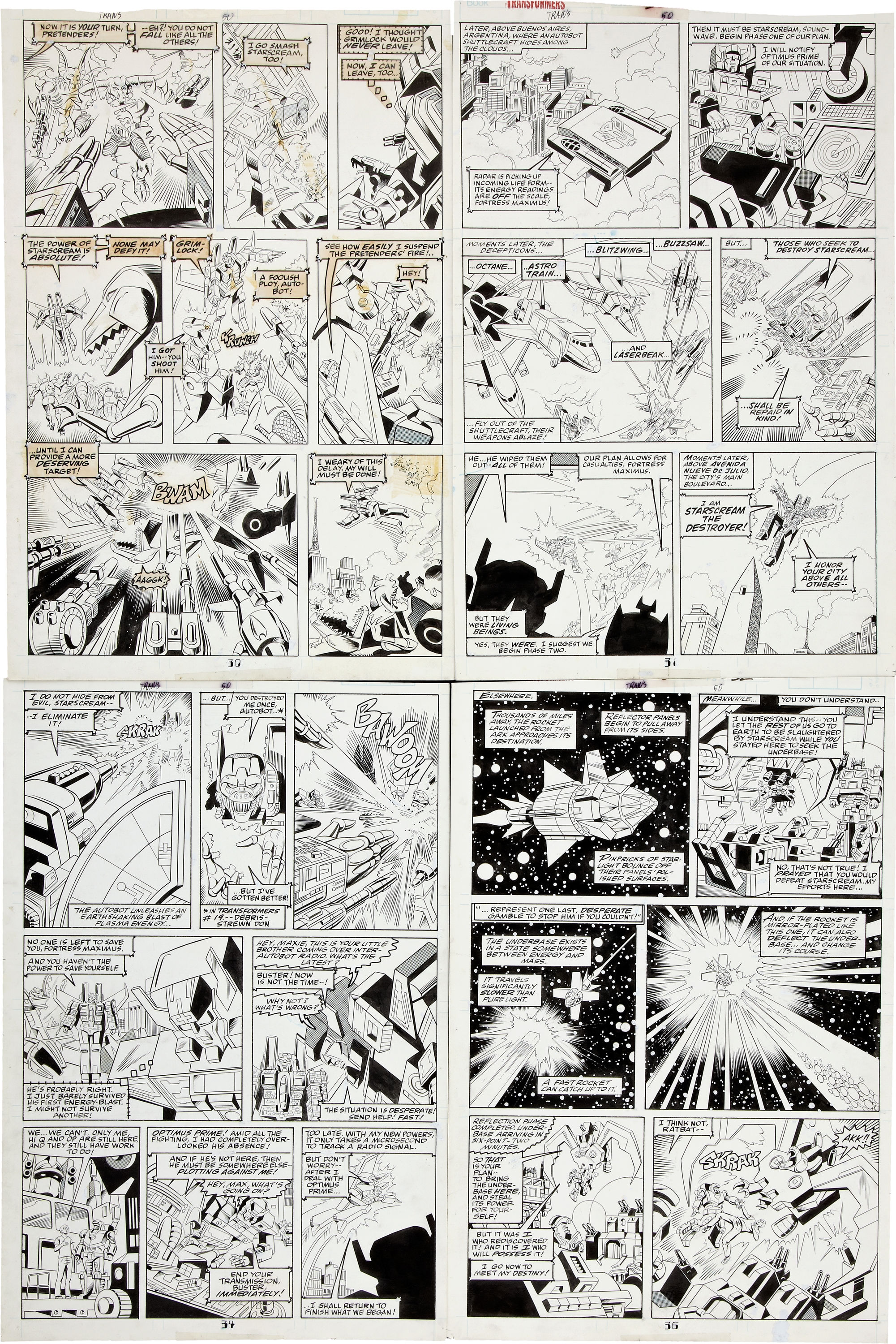 Be Nelson Yomtov! (Colorists, Tackle an Original Transformers Marvel Comics Page!)-jose-delbo-transformers-50-page-05.jpg