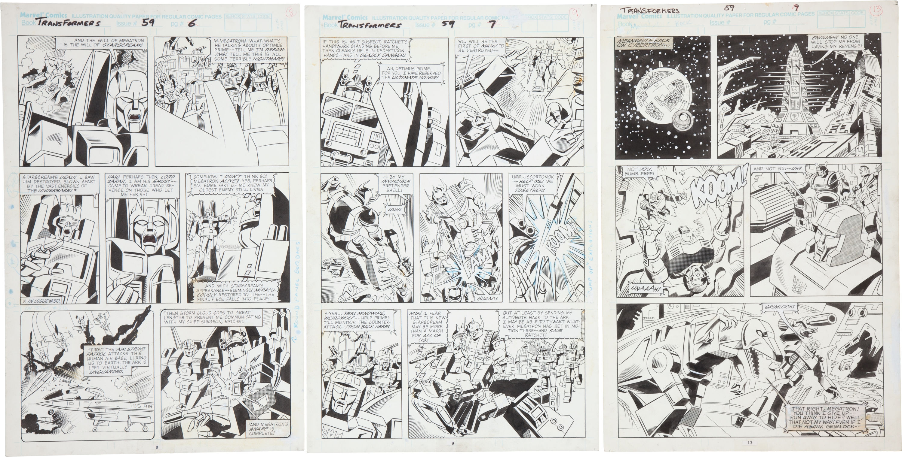 Be Nelson Yomtov! (Colorists, Tackle an Original Transformers Marvel Comics Page!)-jose-delbo-transformers-59-pages-02.jpg