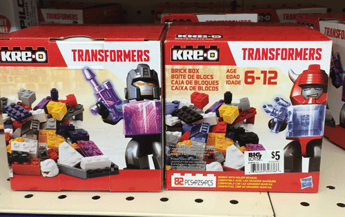 kre o transformers brick box instructions 78 pieces