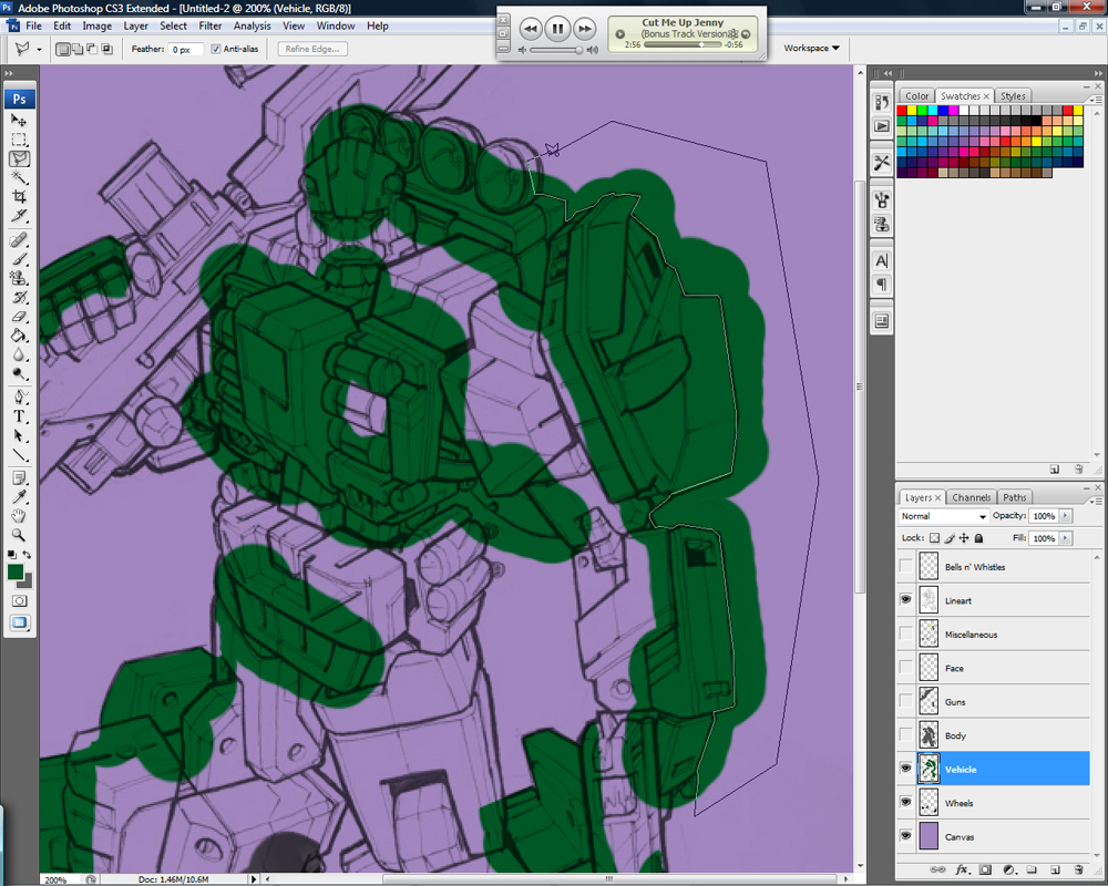 Drawing Transformers: Part 2 - Color Basics-lasso5.jpg