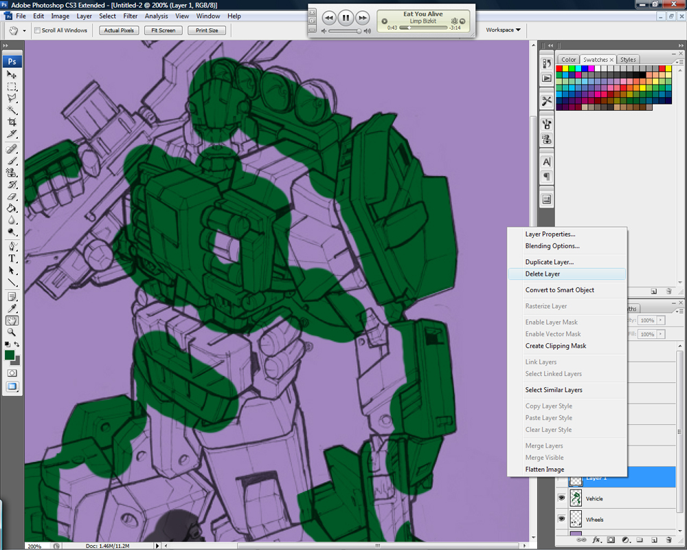 Drawing Transformers: Part 2 - Color Basics-lasso7.jpg