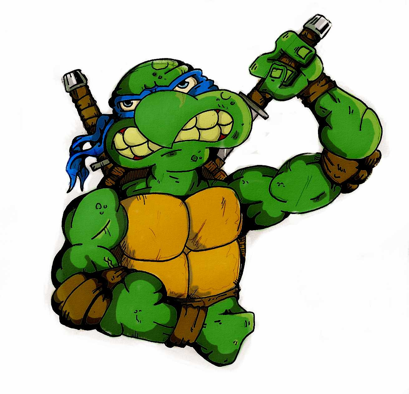 Leonardo Turtle http://www.tfw2005.com/boards/transformers-fan-art/453938-teenage-mutant-ninja-turtles.html