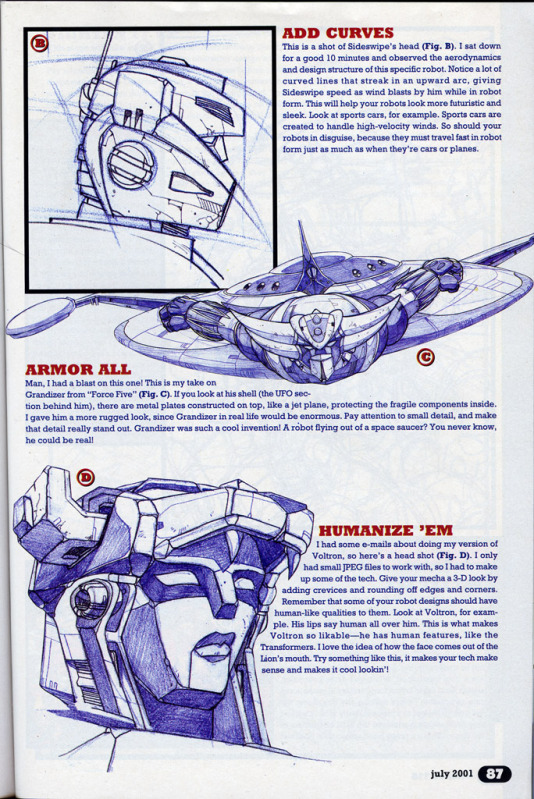 """Wizard #119: """"Basic Training: Pat Lee Shows You How to Draw Mecha""""-page2.jpg"""