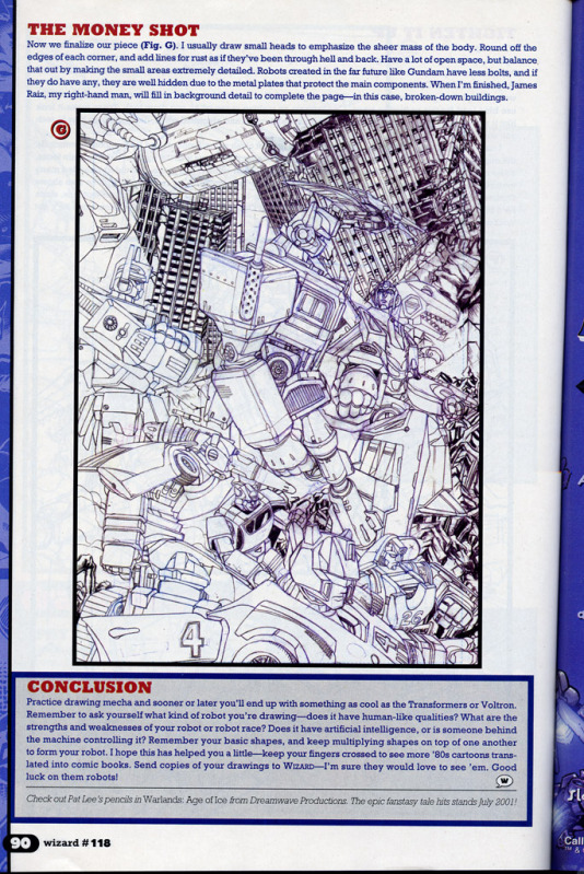 """Wizard #119: """"Basic Training: Pat Lee Shows You How to Draw Mecha""""-page5.jpg"""