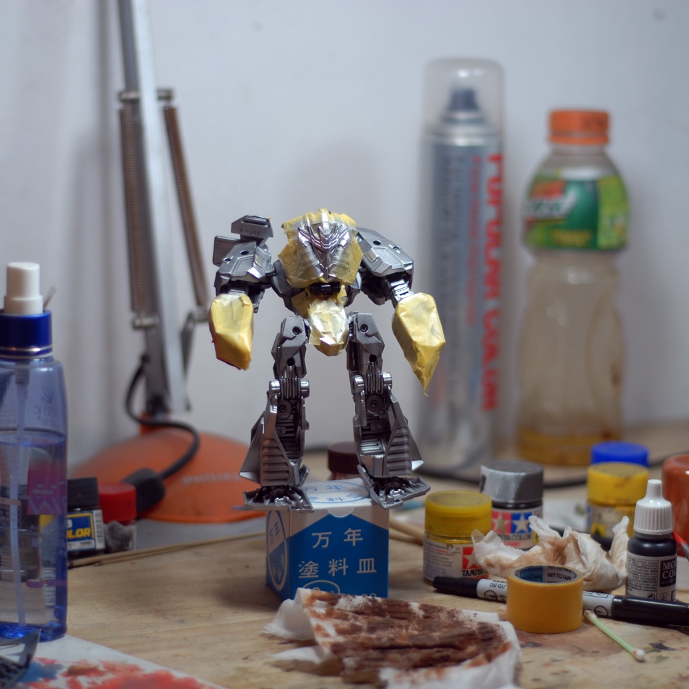Rusty, Weathering Painting - with Generations [WfC] Megatron!-paint-room-5.jpg