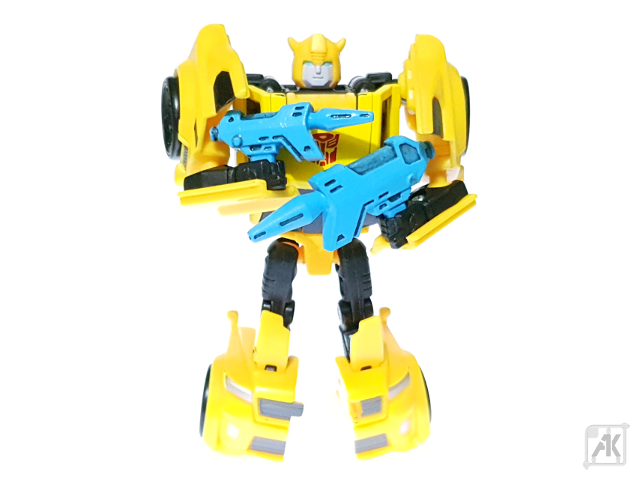 (Painted) TR Bumblebee Blaster - Size Comparison - with TR Bumblebee Robot Mode 1.png