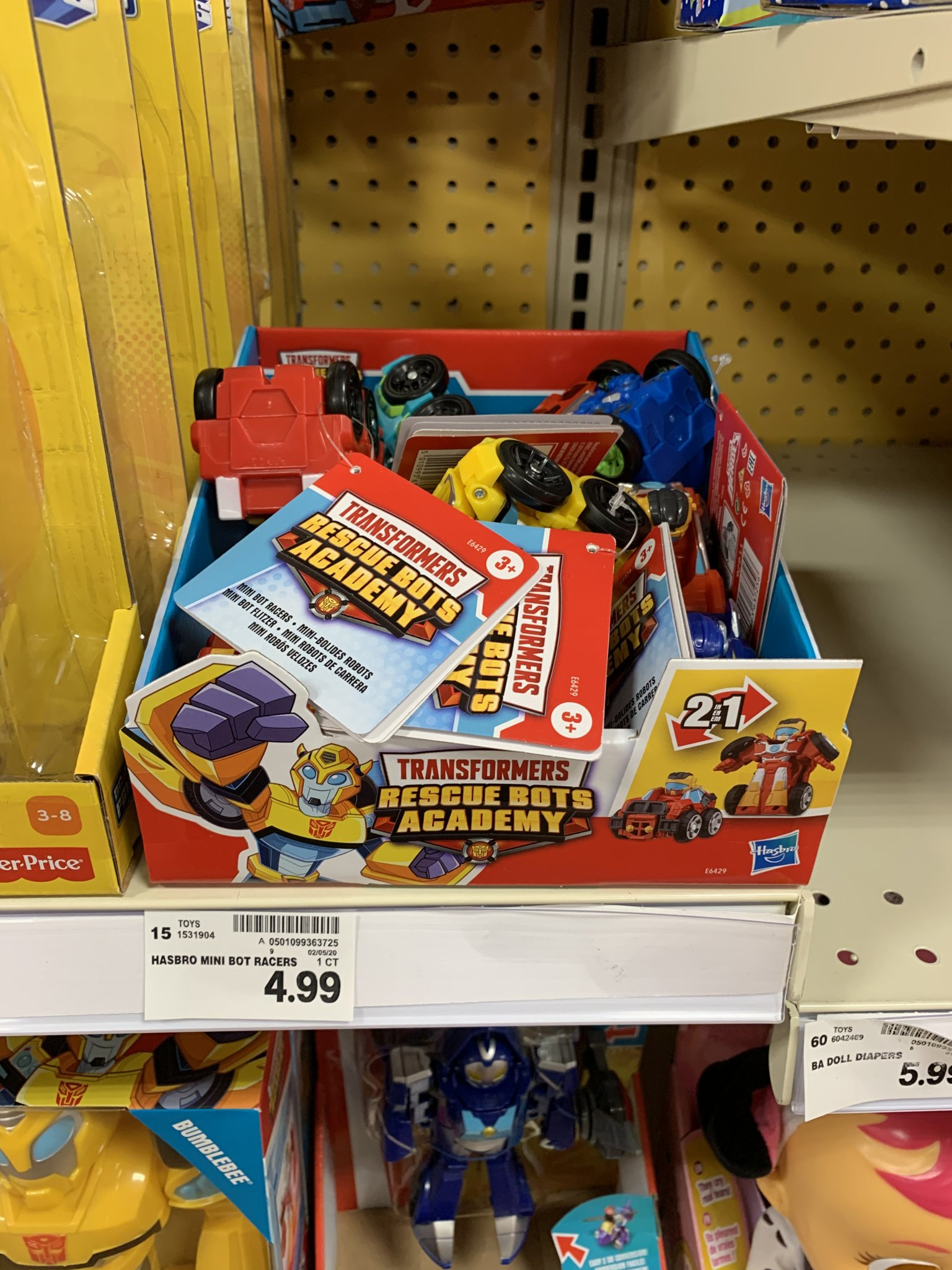Rescue Bots Academy Mini-Racers At US Retail-01.jpeg
