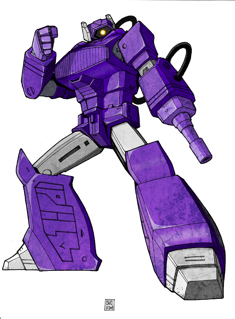 G1 Shockwave - Colors (WIP) - TFW2005.com