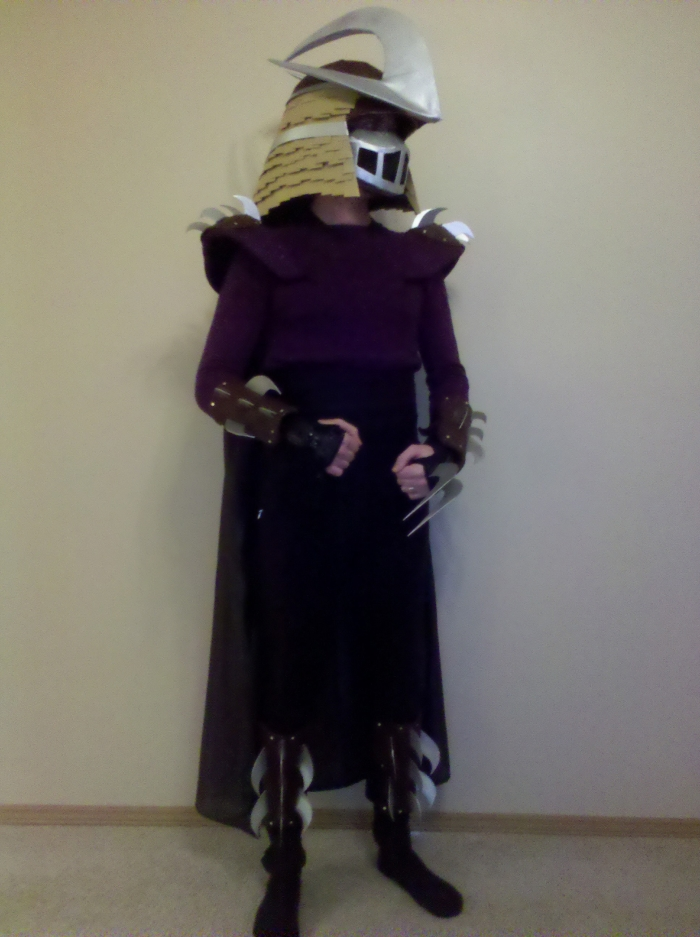 shredder costume 2010 1jpg