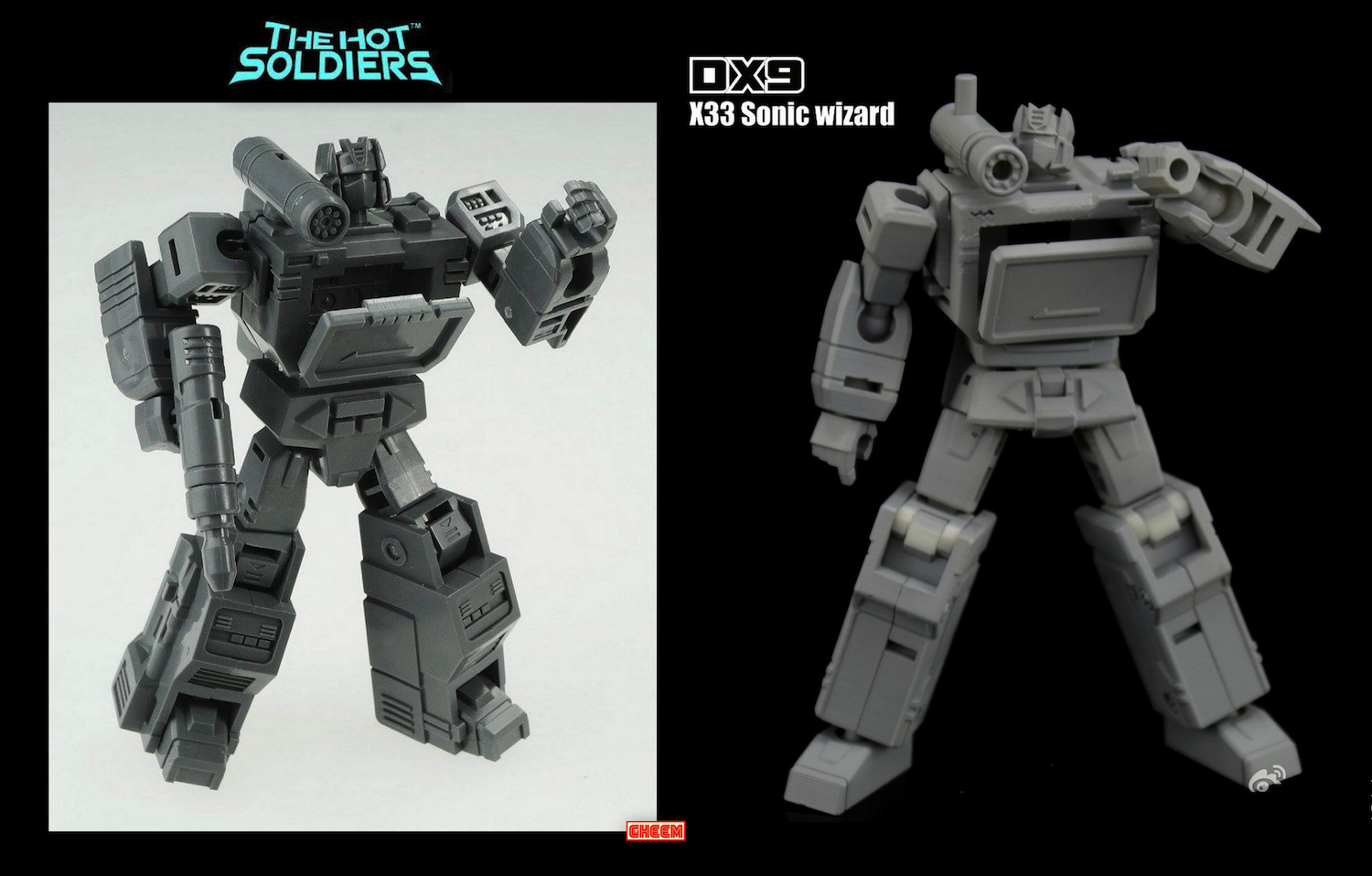 DX9 X33 Sonic Wizard (legend size not Soundwave) | TFW2005 - The