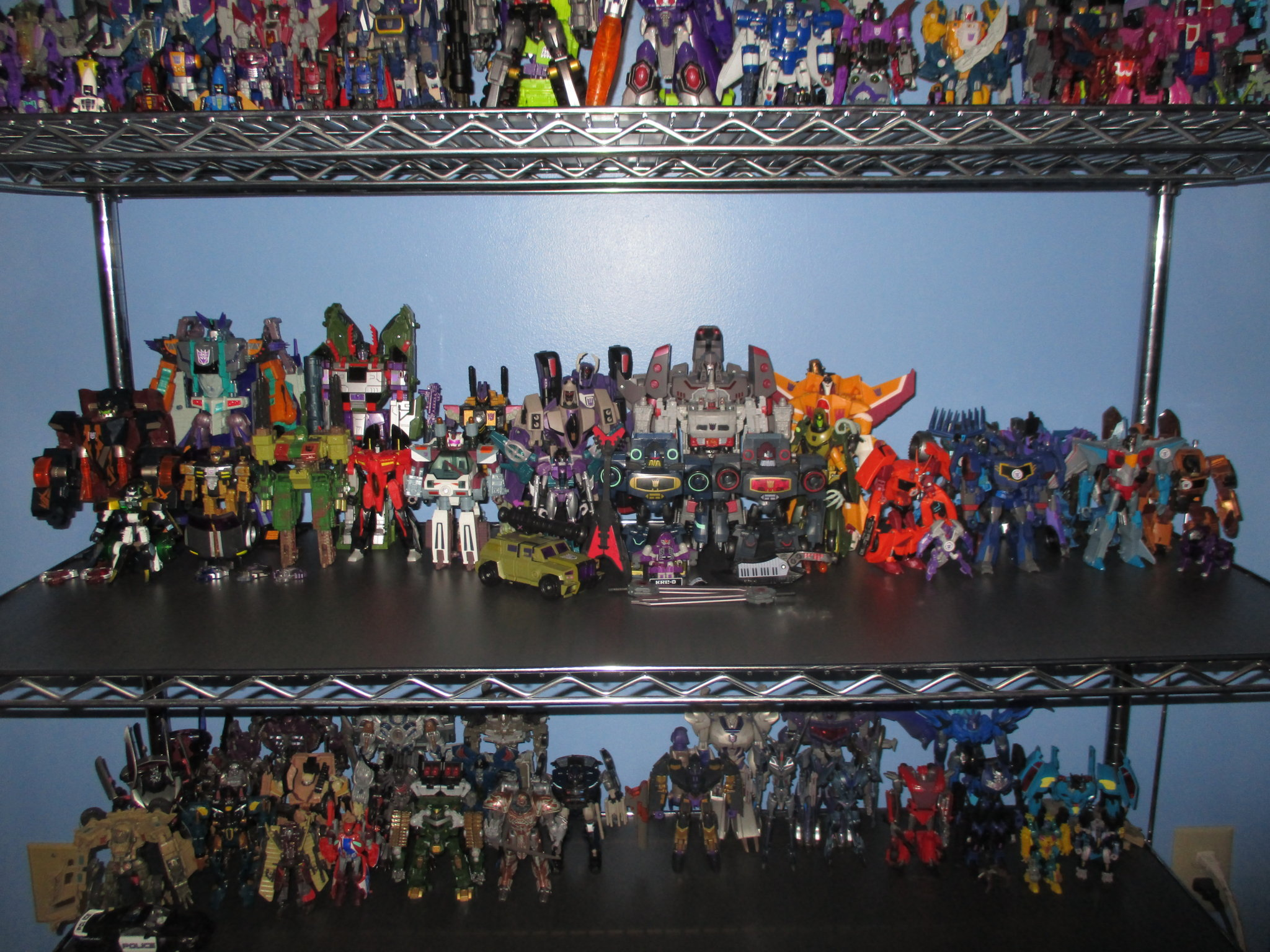 The Kup's Collection - Decepticon Shelf  Two - 1.JPG