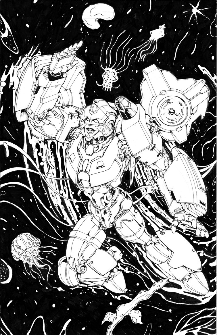 Transformers 15 Cover Lineart By Andrew Griffith.jpg