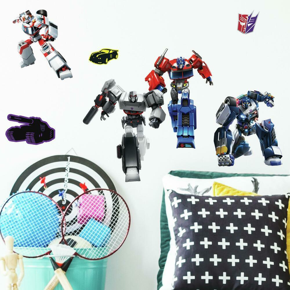 TRANSFORMERS ALL TIME FAVORITES PEEL AND STICK WALL DECALS-3.jpg