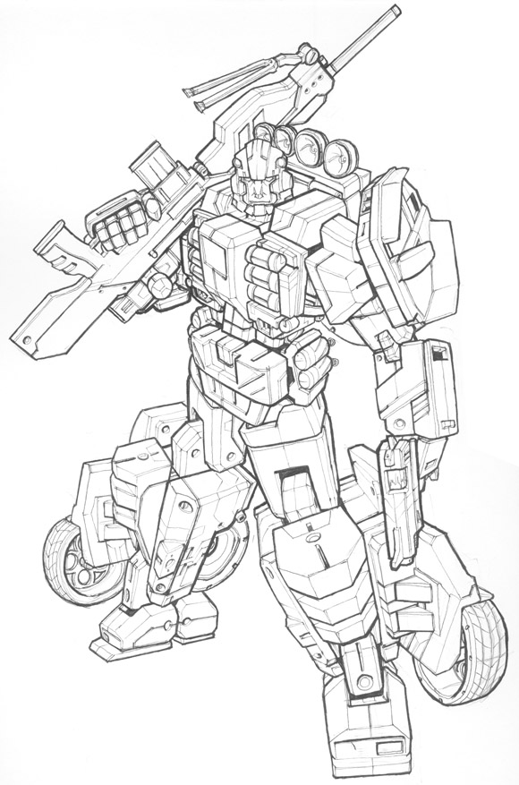 Drawing Lines With Php : Illustrations digital models drawing transformers part