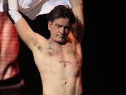 Charlie Sheens Armpit